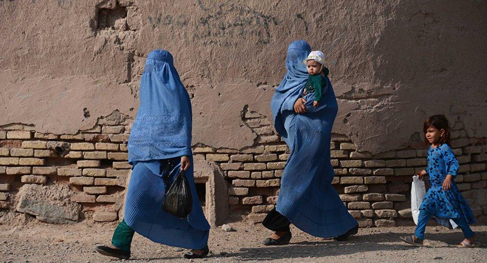 Femmes afghanes à Kaboul
