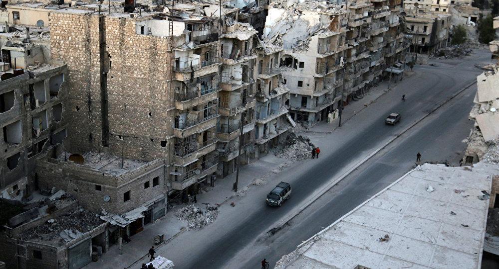 Le quartier Tariq al-Bab d'Alep contrôlé par les insurgés