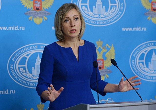 Porte-parole du ministère russe des Affaires étrangères Maria Zakharova