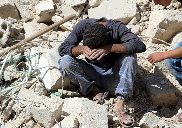 Situation à Alep. Photo d'illustration