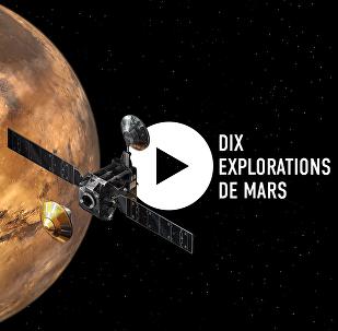 Dix explorations de Mars