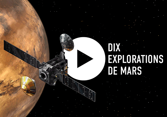 Dix explorations de Mars