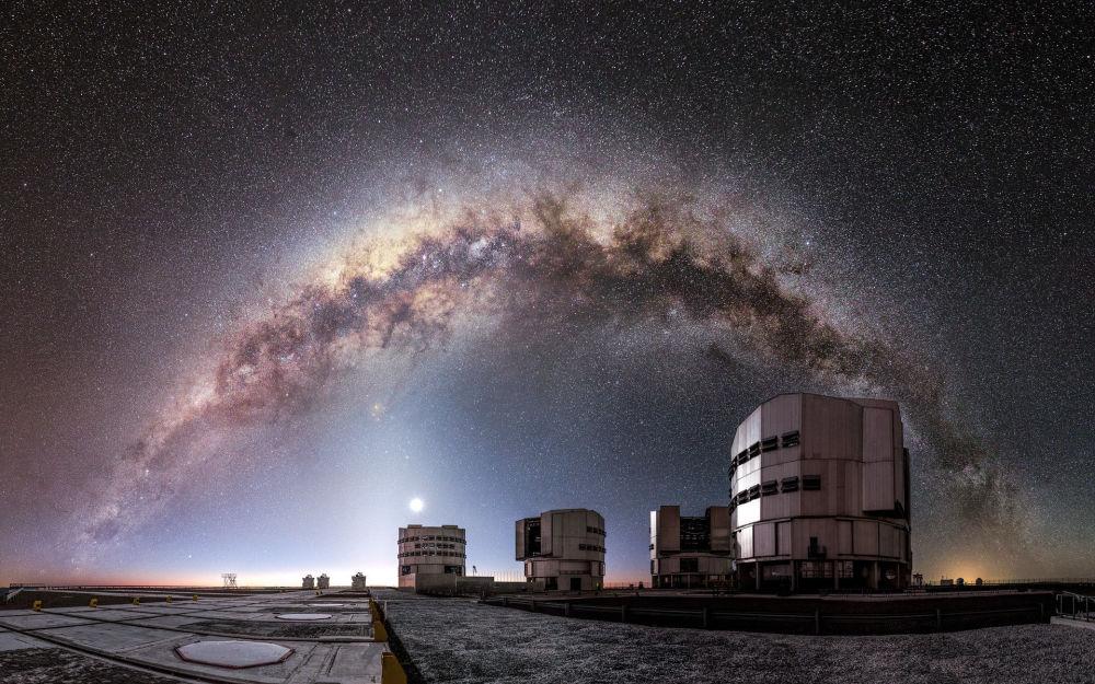 Une photo de la Voie lactée prise au Chili