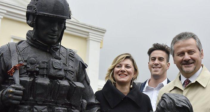 Parlementaires italiens en visite en Crimée