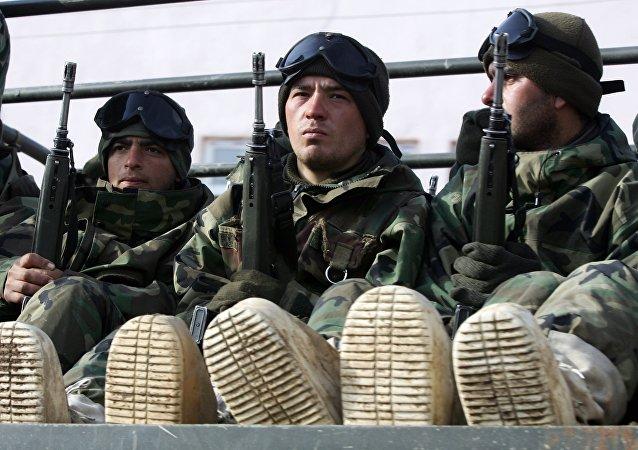 Soldats turcs en Irak