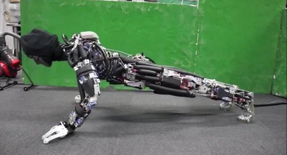 Ce robot japonais peut transpirer!