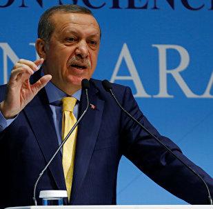 Recep Tayyip Erdogan, président turc