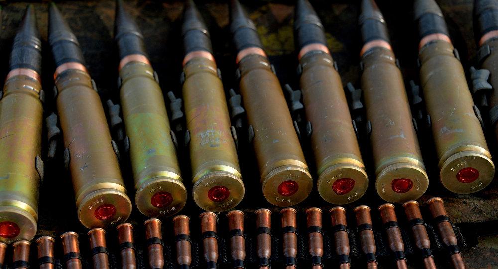 Des munitions d'artillerie. Image d'illustration