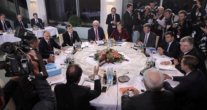 Rencontre sur l'Ukraine à Berlin