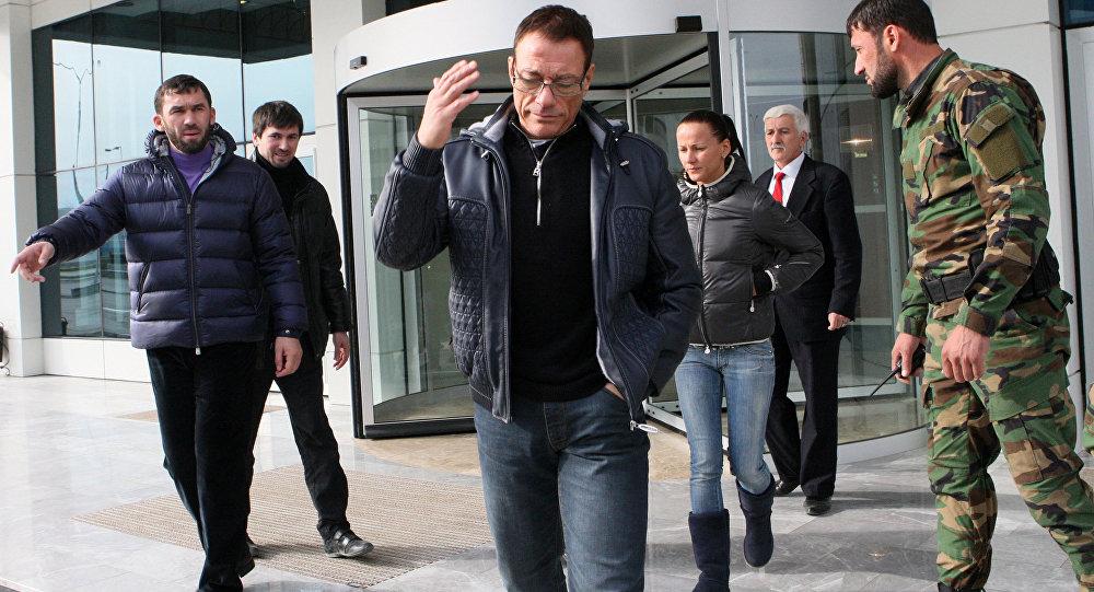 Jean-Claude Van Damme à Grozny