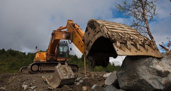 Un excavateur