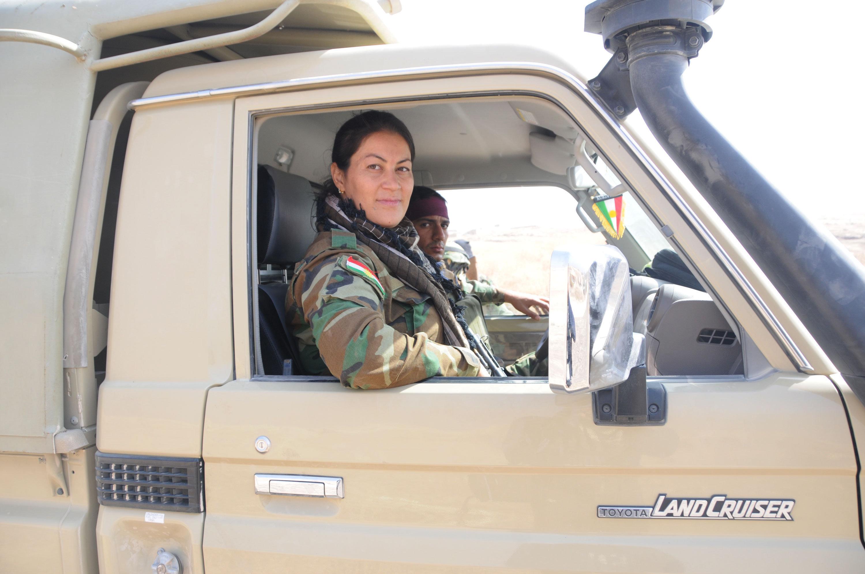 Unité de femmes peshmergas