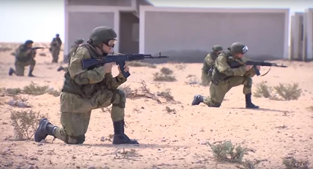 Exercices russo-égyptiens Défenseurs de l'amitié 2016 en Egypte