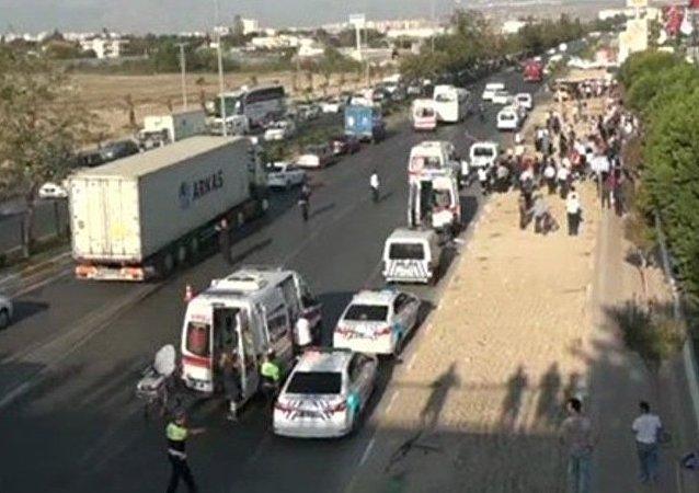 explosion près de la CCI d'Antalya