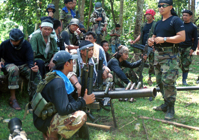 Combattants d'Abou Sayyaf