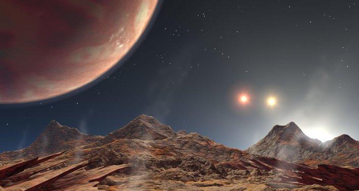 La vie serait possible sur une planète à deux soleils