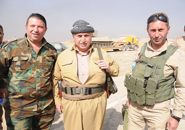 Hemze Salih, un militant peshmerga de 72 ans