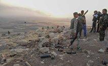 Des peshmergas à Mossoul