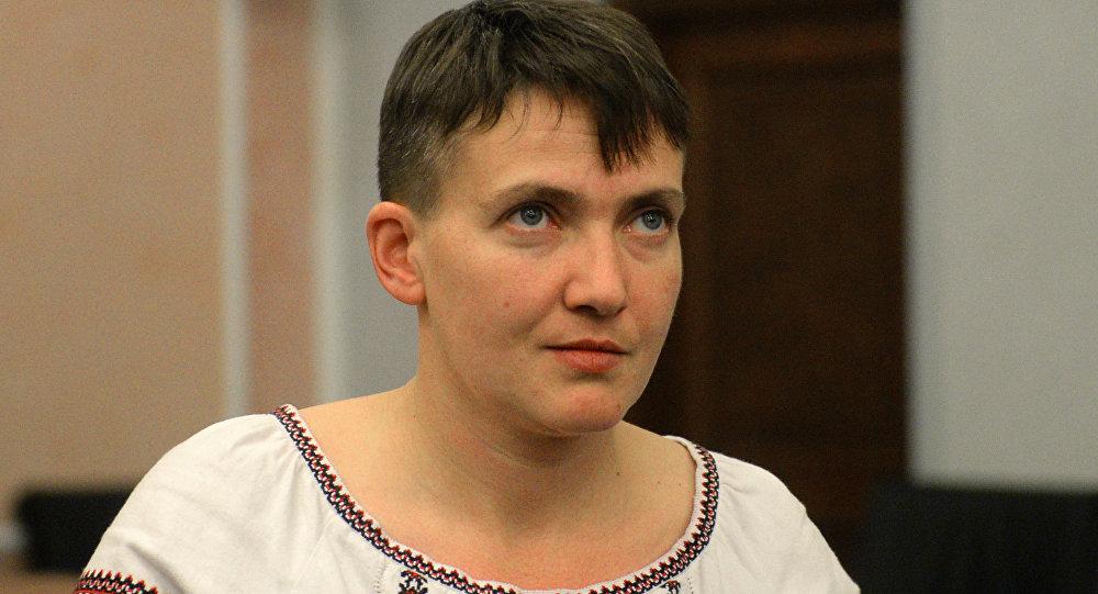 Nadejda Savtchenko est venue à Moscou pour le procès en appel de ses compatriotes