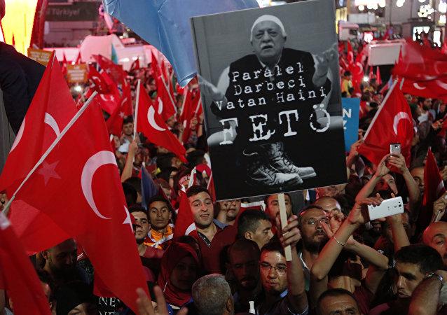 Pro-Erdogan partisans