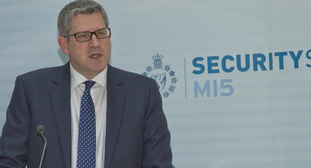 Andrew Parker, chef du MI5 britannique
