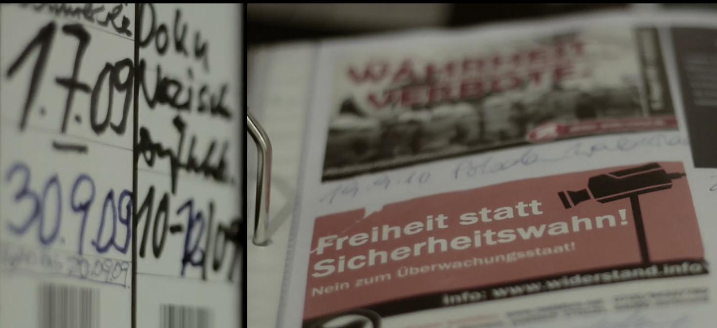 Une retraitée élimine les graffitis xénophobes à Berlin depuis 1986