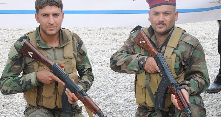 La milice chiite Hachd al-Chaabi