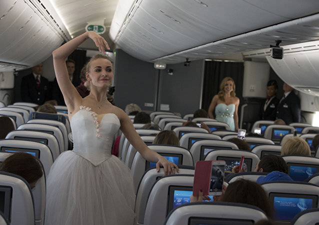 British Airways accueille le premier ballet du Bolchoï à son bord
