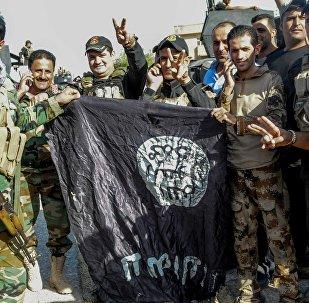 Militaires irakiens lors de l'opération de Mossoul