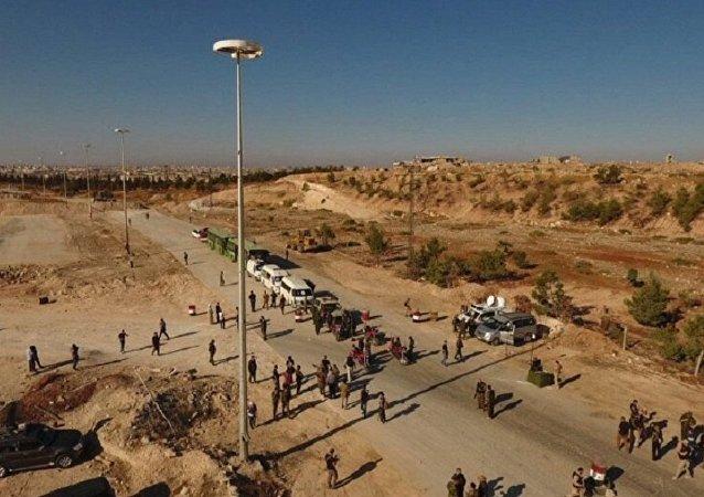 couloir humanitaire à Alep