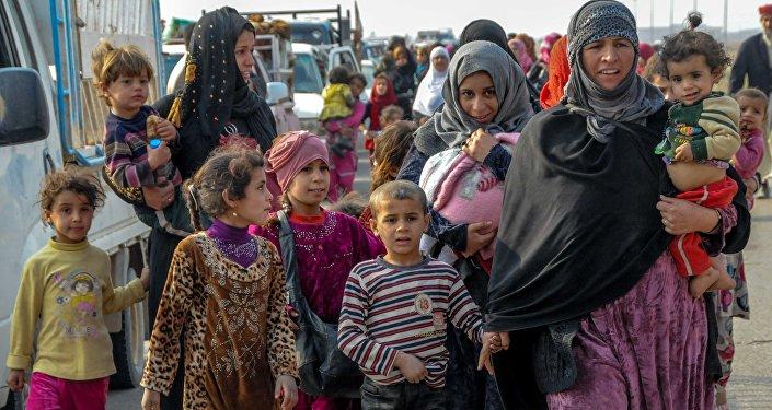 Réfugiés de Mossoul