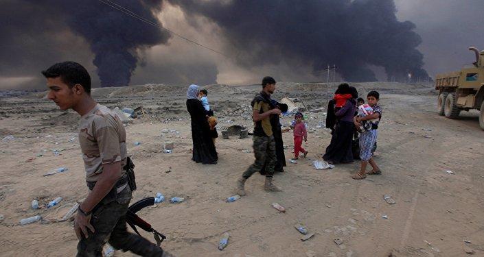 Situation à la ville irakienne de Mossoul