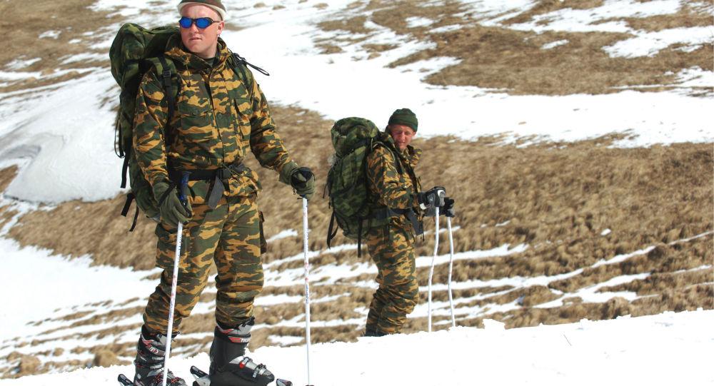 éclaireurs militaires russes