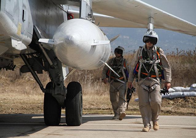 Des militaires russes