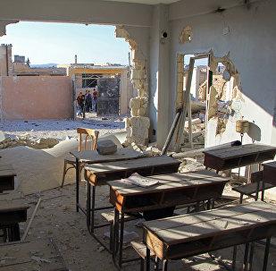 Moscou dénonce une frappe fantôme sur une école d'Idleb