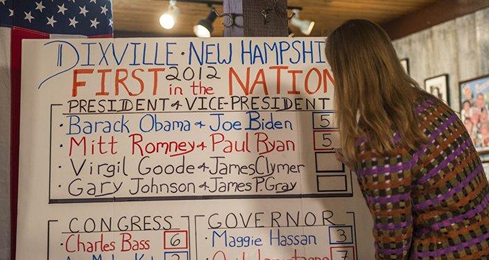 Le scrutin dans le village américain de Dixvill Notch