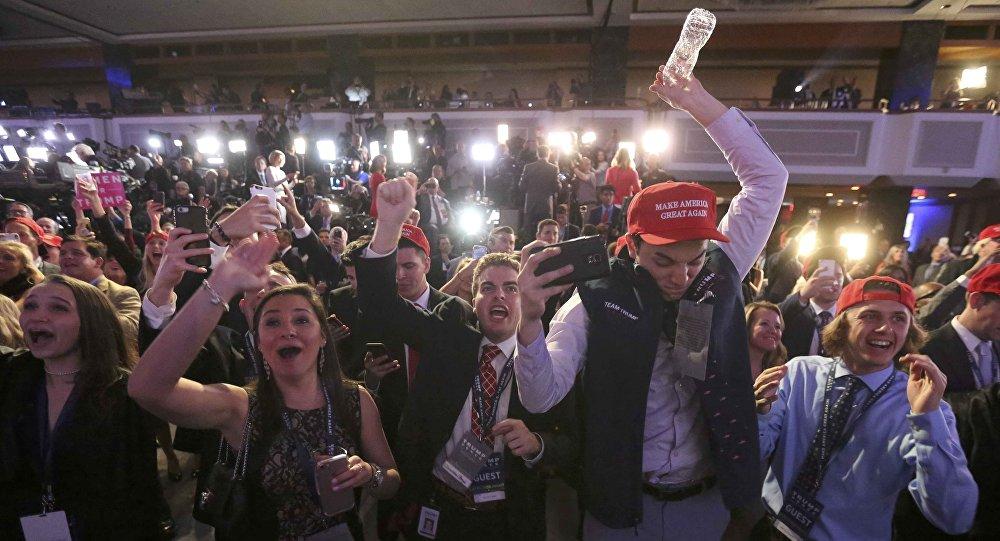 Victoire de Trump