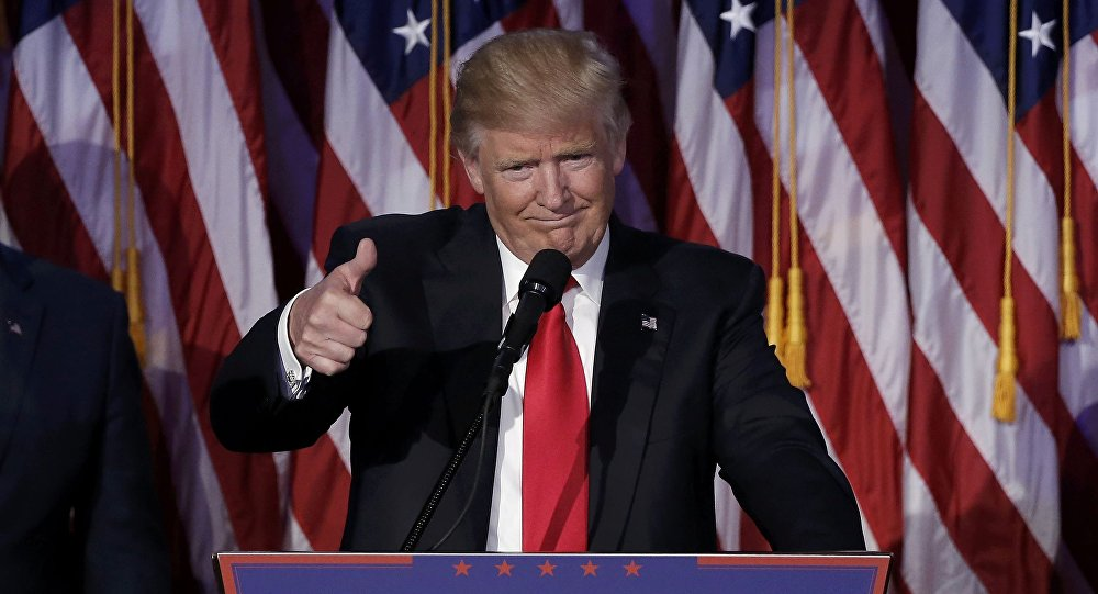Le président élu Donald Trump
