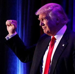 Donald Trump élu président des Etats-Unis