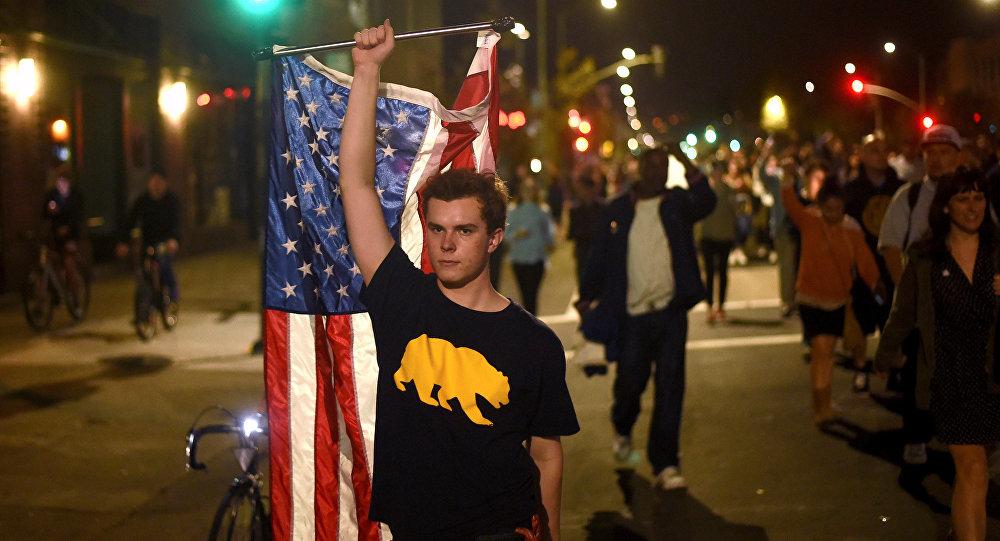 Californie, protestations contre l'élection de Donald Trump