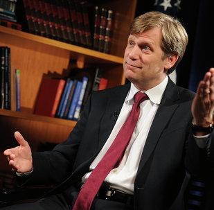L'ex-ambassadeur américain à Moscou Michael McFaul