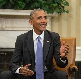 Le président sortant des Etats-Unis Barack Obama