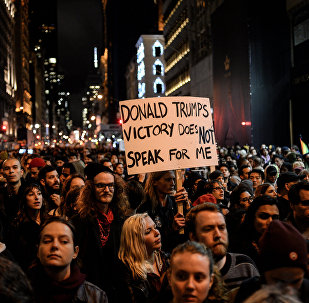 Protestations contre Donald Trump