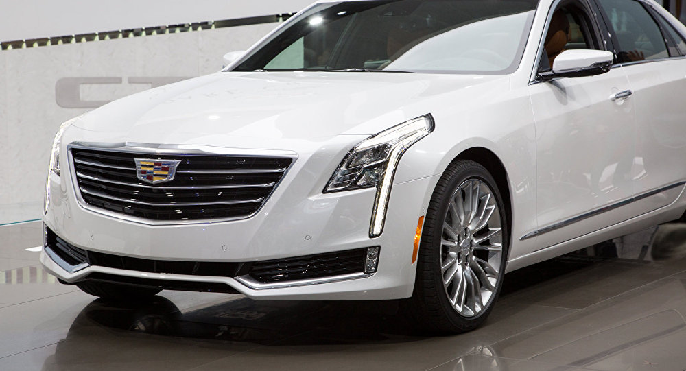 Cadillac CT6-0137. Image d'illustration