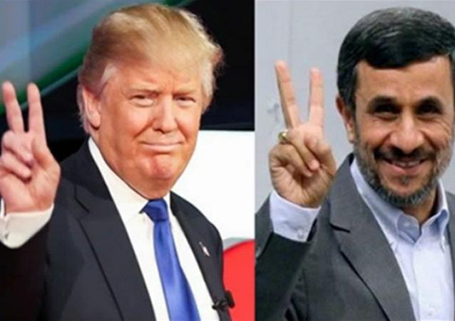 Trump vs Ahmadi Nejad
