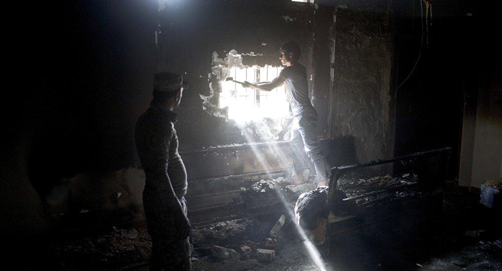 1.000 détenus d'une prison souterraine de Daech libérés