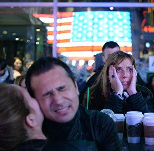 L'élection du républicain Donald Trump choque les étudiants