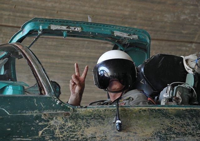 Un pilote syrien