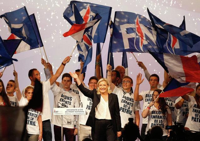 Une pétition en faveur de Marine le Pen lancée en France
