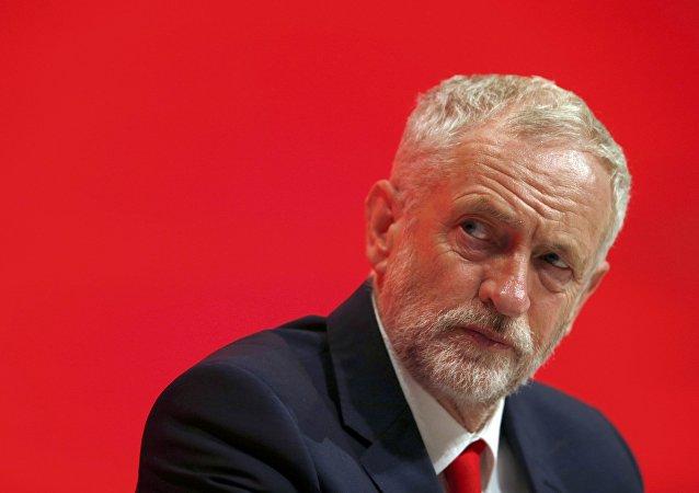 Jeremy Corbyn, le chef du Parti travailliste